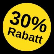 30-Prozent-Rabatt